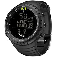 PALADA Men's Digital Sports Watch Waterproof Tactical Watch with LED Backlight Watch for Men