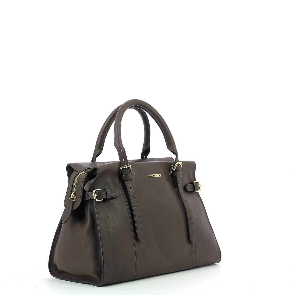 c3d17e4a379f Twin-Set Simona Barbieri - Leather handbag for woman