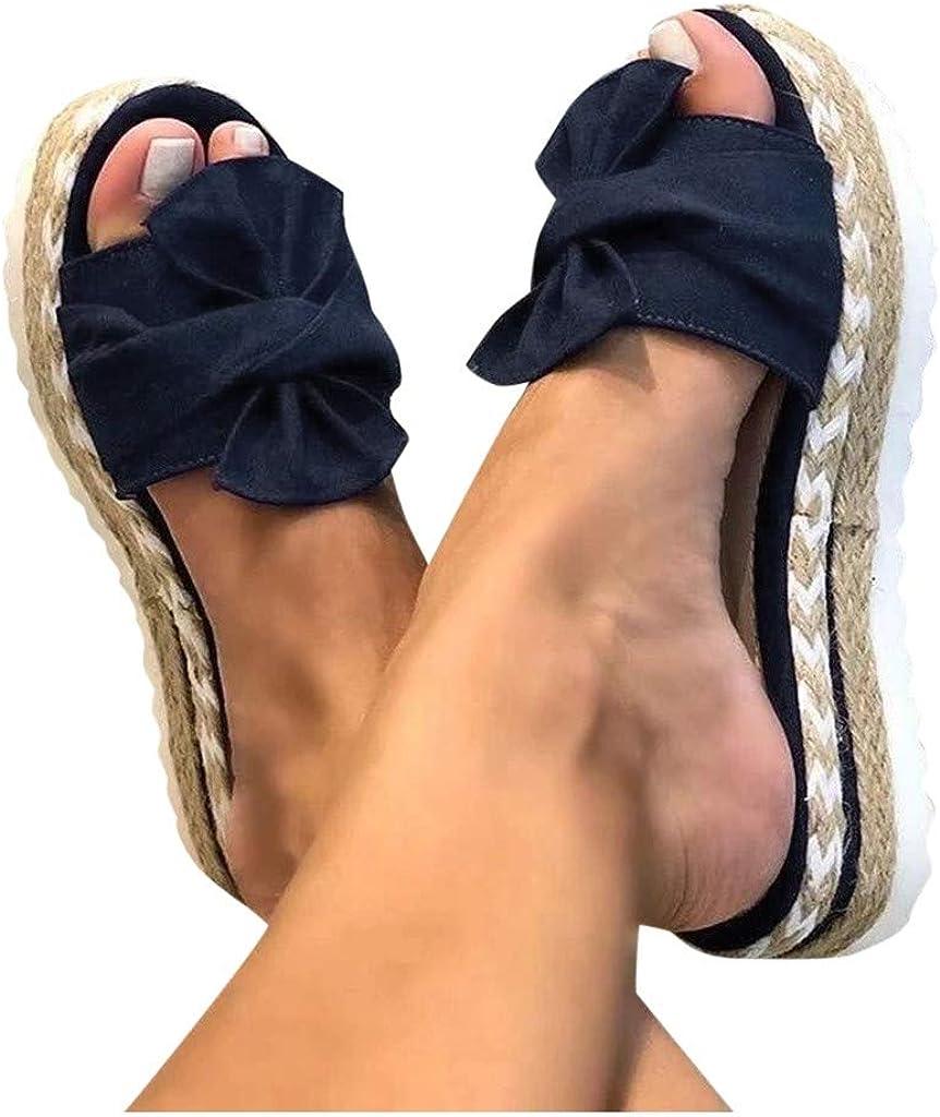 Sandals for Women Dressy,Womens 2021 Comfy Platform Casual Sandal Shoes Summer Beach Travel Slipper Open Toe Flip Flops