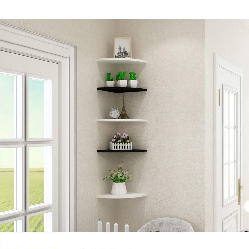 Amazon.com: Wall Shelf Punch-Free Bedroom Living Room Wall ...