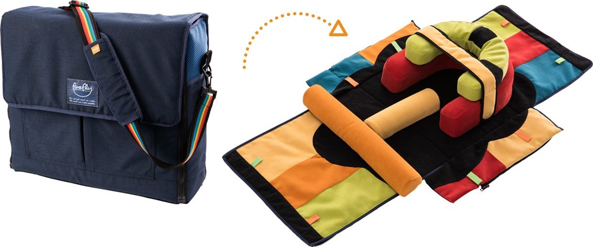 Tremendous Firefly By Leckey Playpak Portable Activity Kit Portable Early Intervention Therapy Kit For Children With Complete Home Design Collection Papxelindsey Bellcom