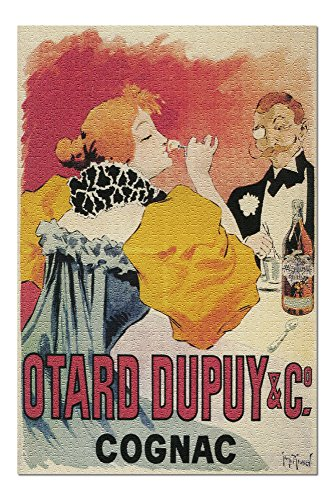 France - Otard-Dupuy and CO. Cognac Promotional Poster (20x30 Premium 1000 Piece Jigsaw Puzzle, Made in USA!)