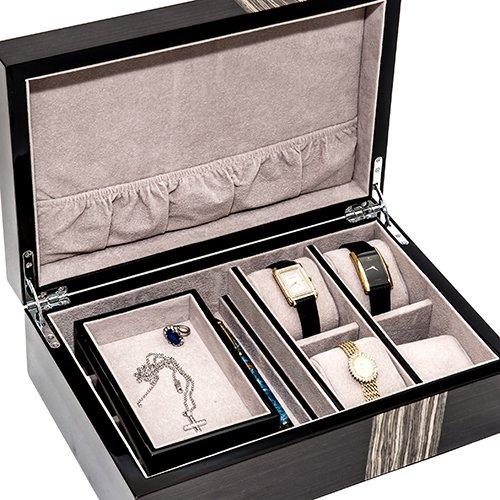Bello Games New York, Inc. Sheepshead Bay Deluxe Men's & Woman's Watch, Pen & Jewelry Box
