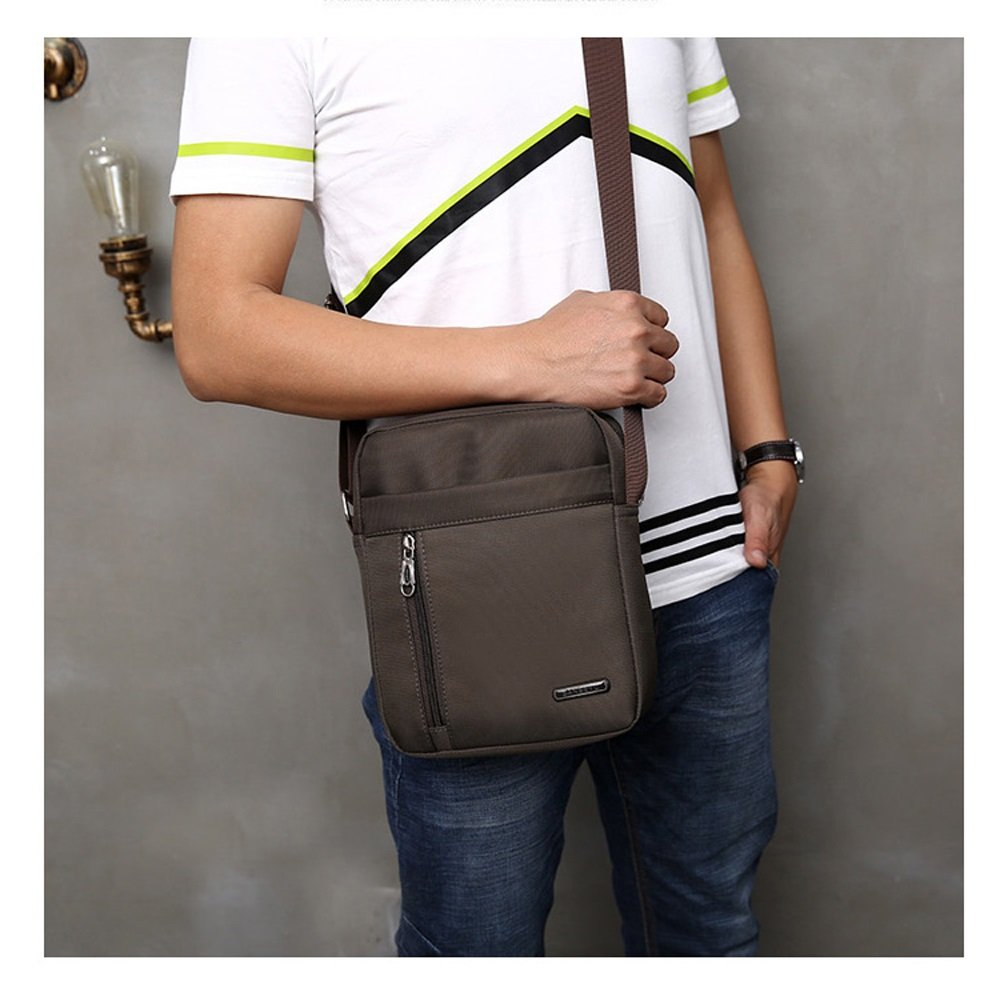 Oxford Cloth Bag Mens Backpack Nylon Shoulder Bag Messenger Bag