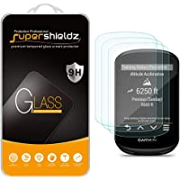 (3 Pack) Supershieldz for Garmin Edge 530 and Edge 830 Tempered Glass Screen Protector, 0.33mm, Anti Scratch, Bubble Free