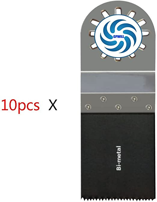 5x Saxton 35 mm bi-lames métalliques pour Fein Multimaster Bosch Oscillant Outil Multi