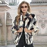 K Jordan Multi-Color Faux Fur Coat