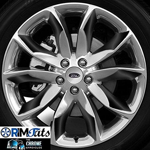 Black 20' Rims (Fits 2014 FORD EXPLORER 20''Wheels- GLOSS BLACK RimTats (Vinyl Graphics-GR�FICOS DE VINILO))