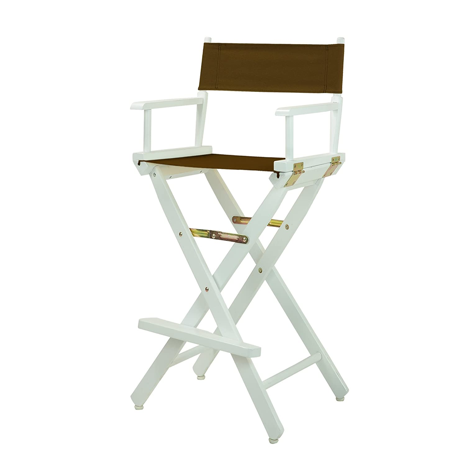 "Casual Home 230-01/021-45 Director Chair, 30""-Bar Height, Brown 30""-Bar Height"