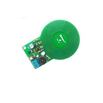 Kit de Bricolaje Kit de Detector de Metales Kit electrónico DC 3V-5V 60 mm Módulo de Placa de Sensor sin Contacto Parte electrónica Detector de Metales DIY: ...