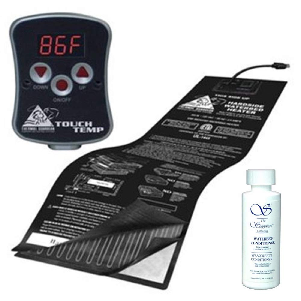 INNOMAX Digital Solid State WATERBED Heater with 4OZ WATERBED Conditioner