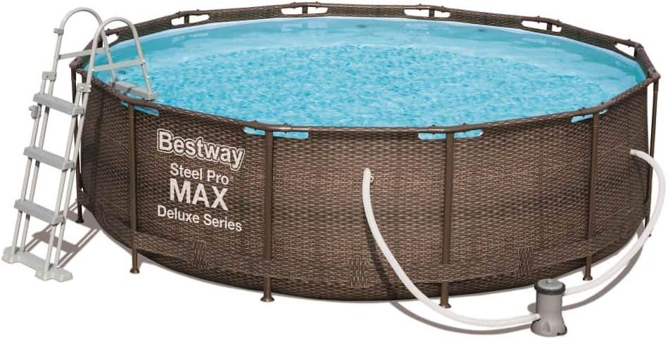 Bestway Piscina Desmontable Steel Pro Max Deluxe 366x100 Cm 56709 ...