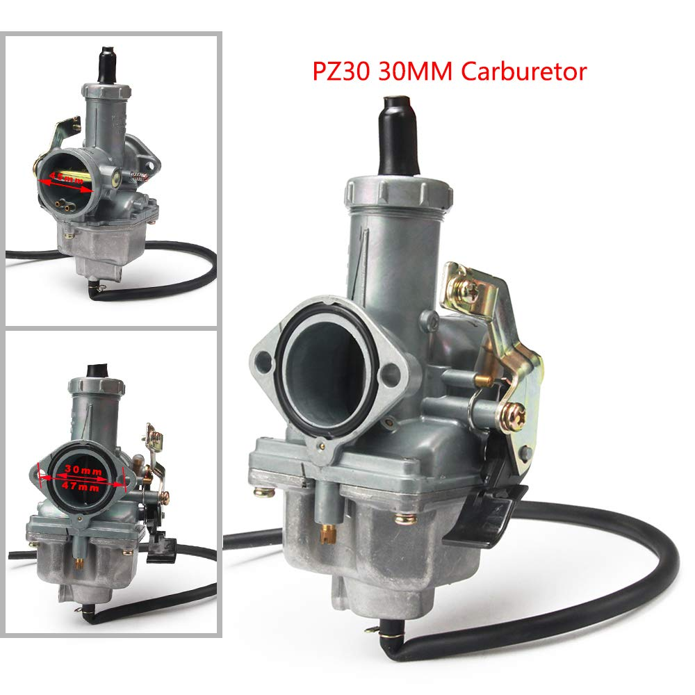 YSMOTO PZ30 PZ 30 MM Cavo carburatore carburatore per 200cc 250cc Moto Dirt Pit Bike ATV Quad Taotao