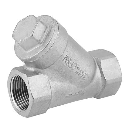 "Y Strainer,Y Filter Strainer 3/4"" DN20 PT Thread Stainless Steel Y Type  Strainer Pump Filter for Water Oil Gas : Amazon.in: Home & Kitchen"