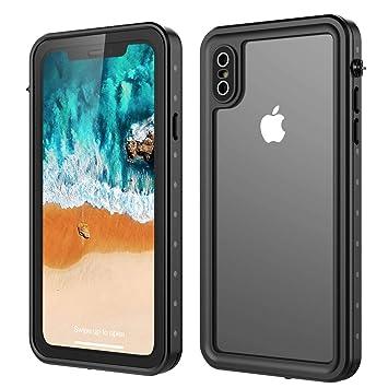 01ef52074f Amazon | Happon iPhone Xs Max 防水ケース, アクセサリー 脱着簡単 防滴 ...