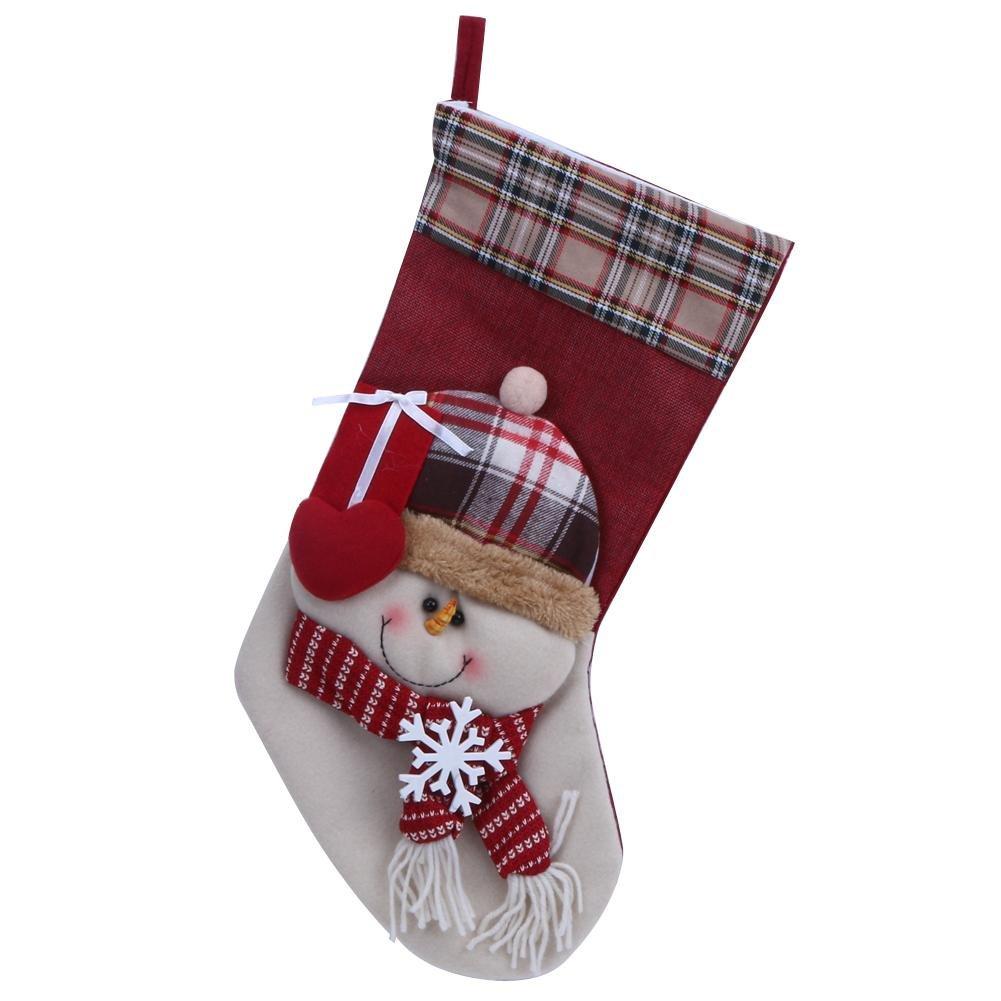 Starnearby Weihnachtsstrümpfe Kinder Geschenke Tasche Startseite ...