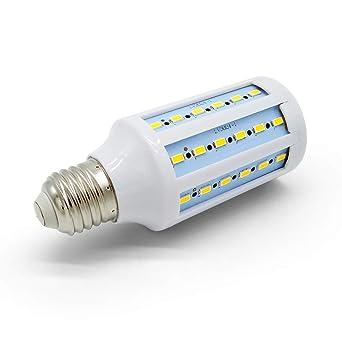 HQT Bombilla LED E27, 15W Bombilla de maíz blanco cálido 360 °, AC185-