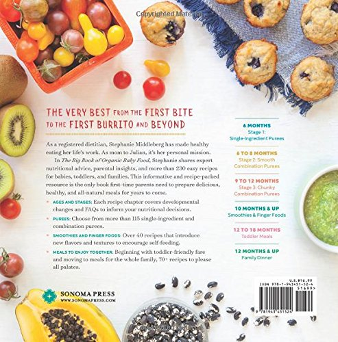 The big book of organic baby food baby pures finger foods and the big book of organic baby food baby pures finger foods and toddler meals for every stage stephanie middleberg ms rd cdn 9781943451524 amazon forumfinder Image collections
