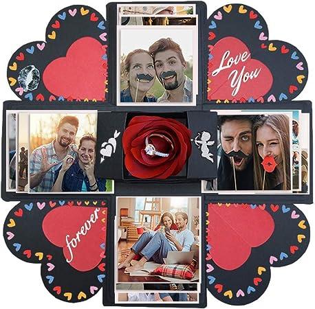 Album photo Lovinn Creative DIY manuel Explosion Bo/îte de m/émoire Album photo scrapbooking Craft Kits cadeaux