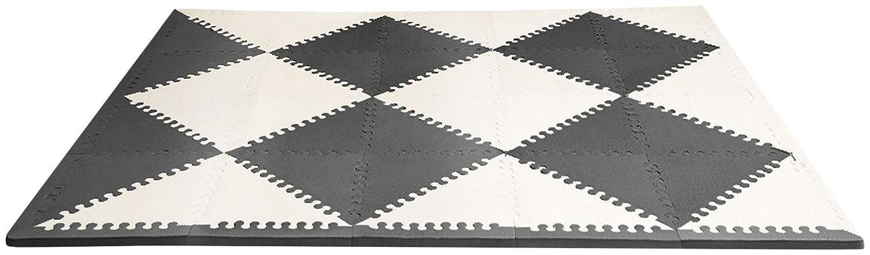 Skip Hop Playspot Foam Play Mat For Baby, Grey/Cream, 70' X 56'
