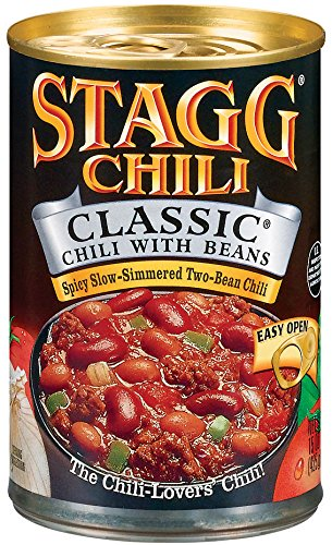 Stagg Classic Chili with Beans, 15-Ounce (Pack of 6)