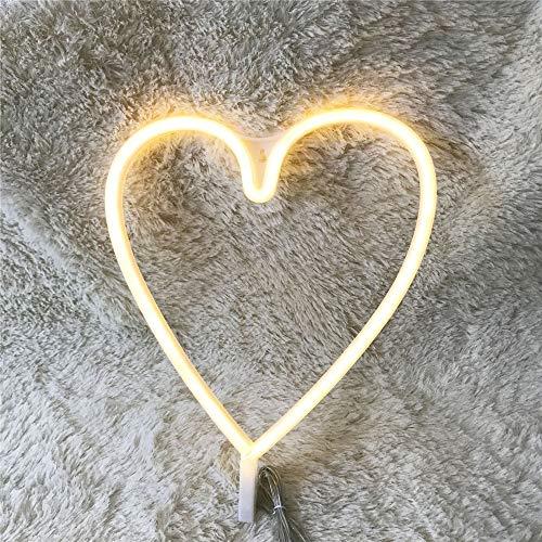 Angel And Heart Plastic Led Lights