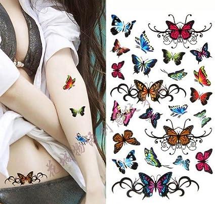 ND tatuaje temporal mujer Tattoo Ephemere pegatinas Divers ...