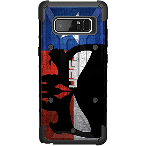 separation shoes 9627b 97d05 Limited Edition - Authentic UAG- Urban Armor Gear Case for Samsung Galaxy  Note 8 Custom by EGO Tactical- Weathered Texas State Flag, Punisher Sideways