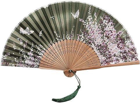 Chinois pliable bambou /& bois ventilateur rétro hand held paper fans fête de mariage nouveau