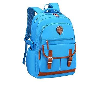 ... Backpack Primaria Portatil Bolsas Escolares Resistente Estudiante Mochila Escolar Niño School Casual Mochilas Infantiles: Amazon.es: Equipaje
