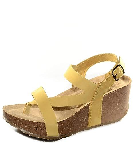 24a2003 E Sandalo Borse itScarpe GialloAmazon kwnPO80