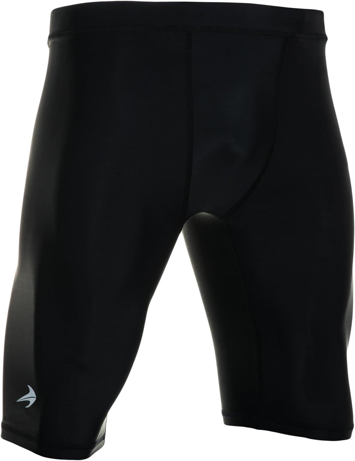 Short Compression CompressionZ - Pour homme Sous-pull Boxer Slips - Meilleur pour Athlétisme, Cyclisme, Basketball