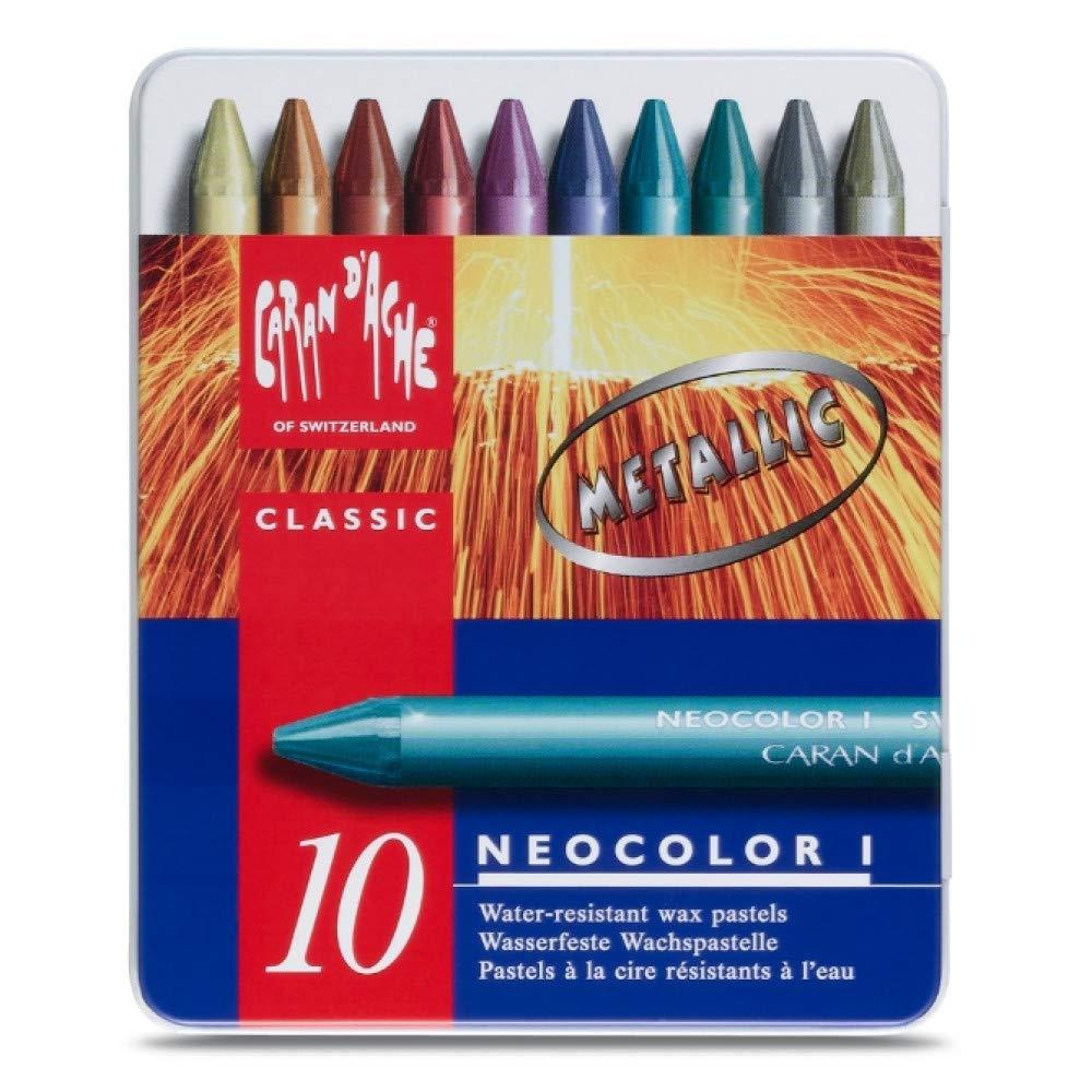 Pastel metallic Neocolor
