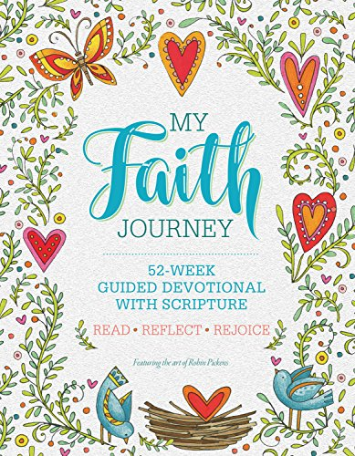 My Faith Journey: 52 Week Guided Devotional with Scripture (Quiet Fox Designs) Lined Journal Filled with Spiritual Activities, Ready-to-Color Drawings, Uplifting Messages, & Insightful Prompts (Power Of A Praying Woman Bible Verses)