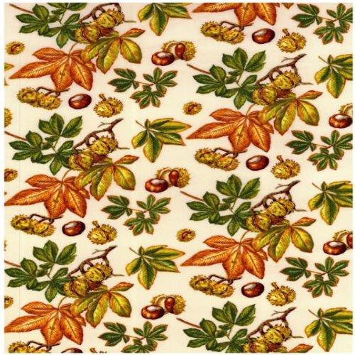 Fat Quarter ippocastano Conkers Quilting Fabric Nutex 50 x 55 cm