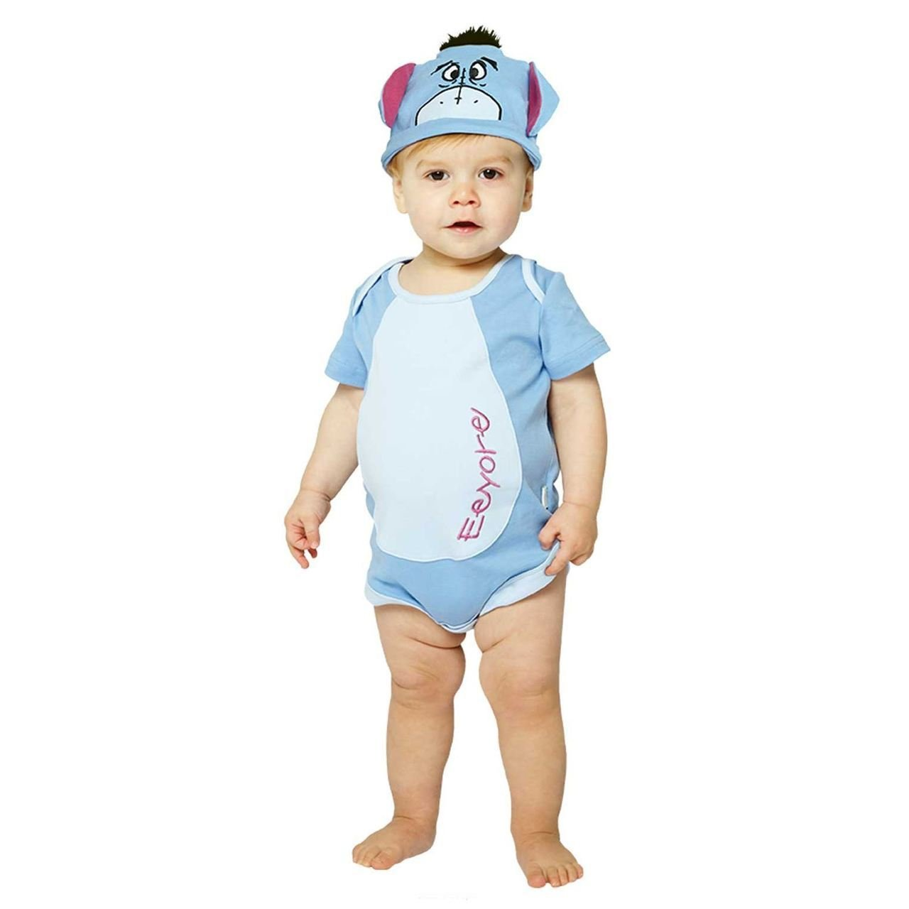 Eeyore bodysuit with hat (9-12 months) DCEEY-BYS