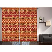 curtains southwestern home kitchen