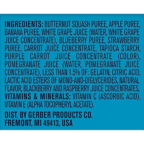 Gerber Graduates Fruit and Veggie, Melts Very Berry Blend, 1 Ounce (Pack of 7) by Gerber Graduates (Image #5)