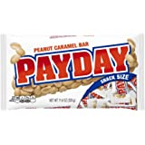 PAYDAY Snack Size Peanut Caramel Bars (11.6-Ounce Bag, Pack of 6)