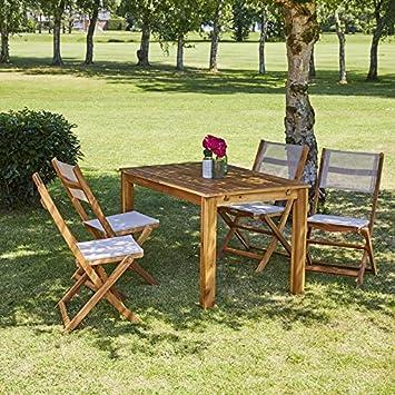 Bois Dessus Bois Dessous 4013E Salon de Jardin, Naturel ...