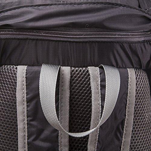 Mountaineering Bag Outdoor Freizeitaktivitäten nylon Wandern Bergsteigen floding floding Paket wasserdichte Taschen , orange