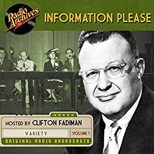 Information Please, Volume 1 Radio/TV Program