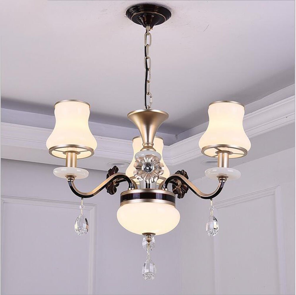 Chandelier crystal chandelier wrought iron pendant lamp northern europe pendant lamp european style living room chandelier bedroom restaurant study lamp