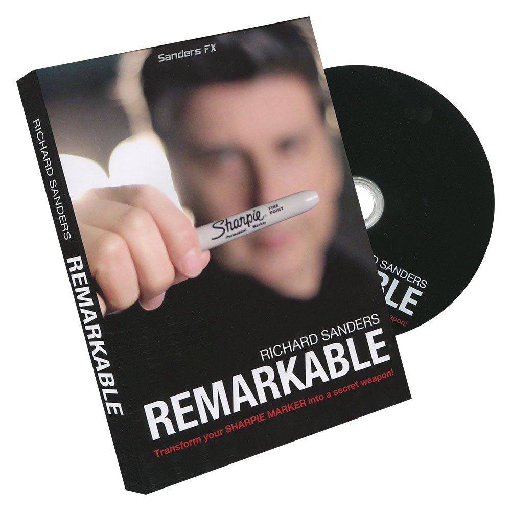 Murphy's Magic Remarkable (DVD and Gimmick) by Richard Sanders -DVD