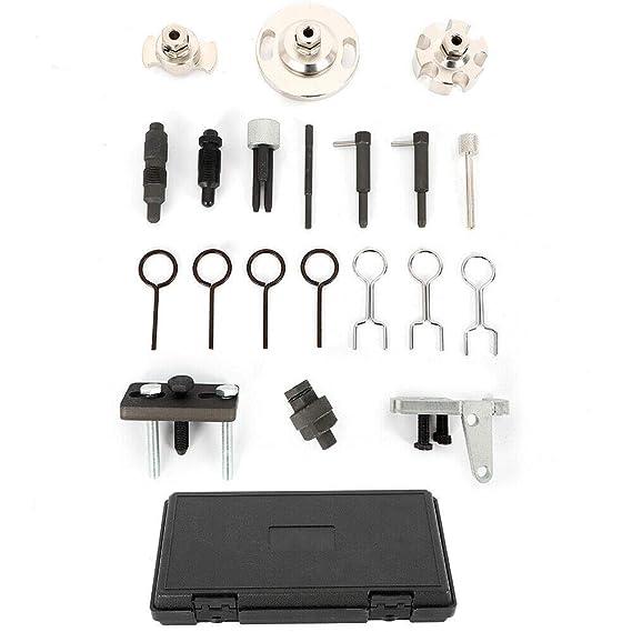 Bloqueo del arbol de levas del motor Herramientas de bloqueo Cambio de cadena de distribución para VW Audi: Amazon.es: Coche y moto