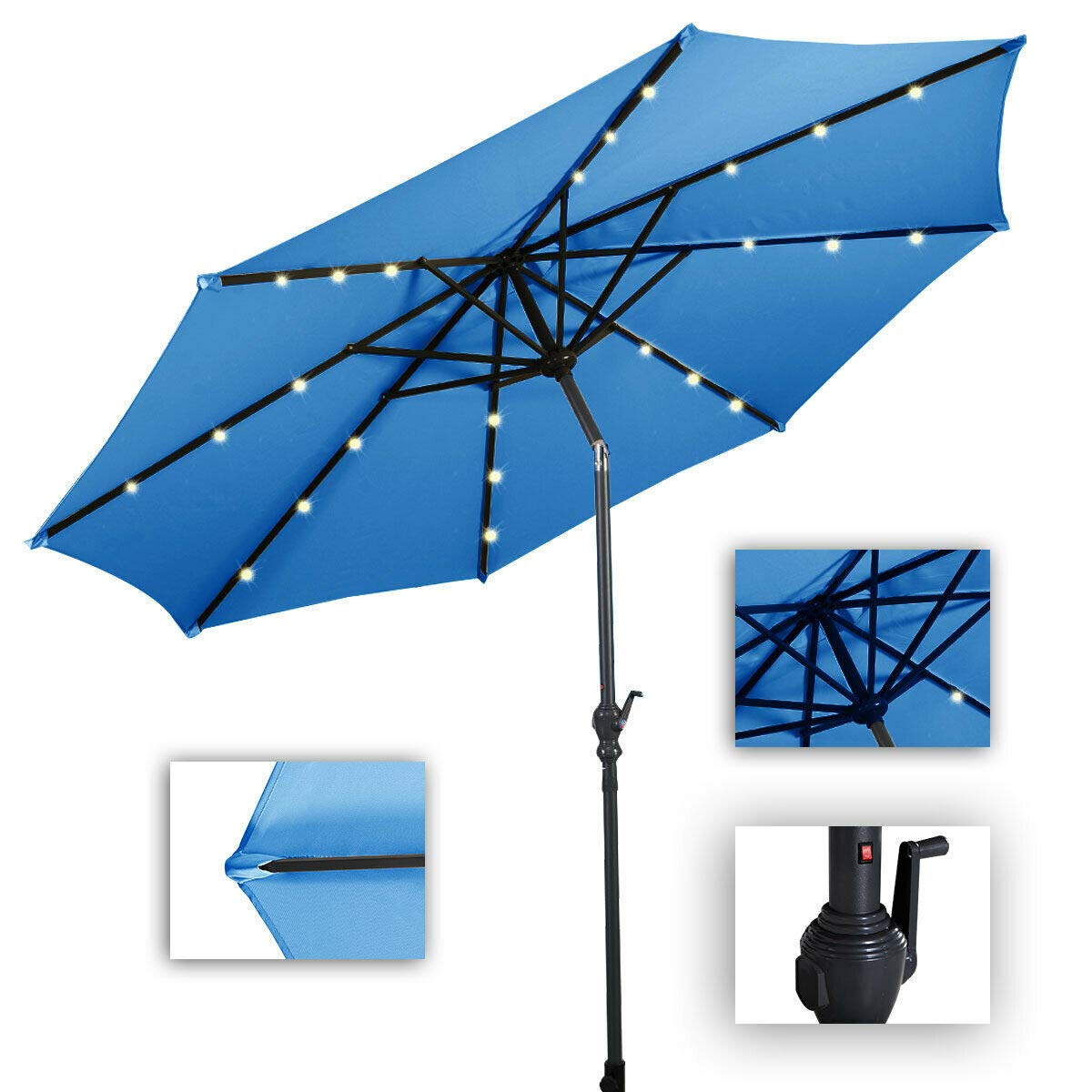 Giantex Solar Umbrella