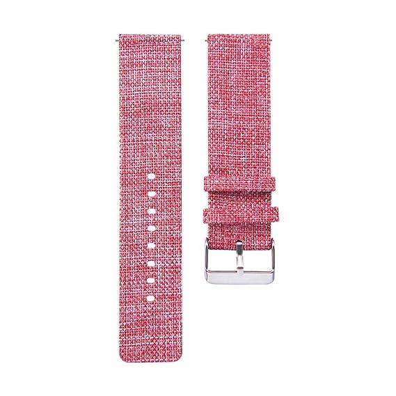Jewh New Universal 22MM Buckle - Fashion Samsung Watch - Nylon Canvas Watch Band - Wrist