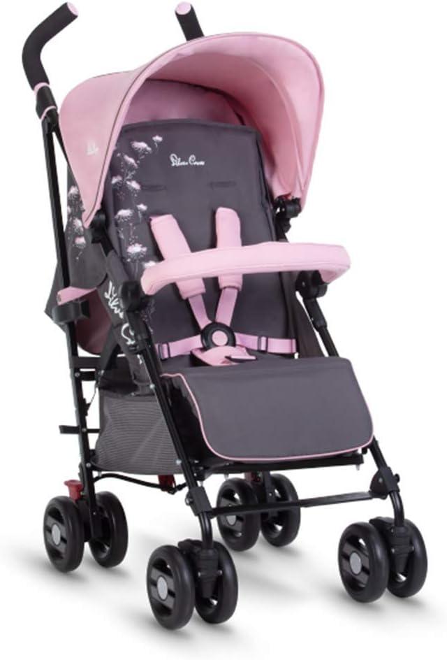 Silver Cross Pop Star Stroller, Compact and Lightweight Pushchair – Dancing Daisies