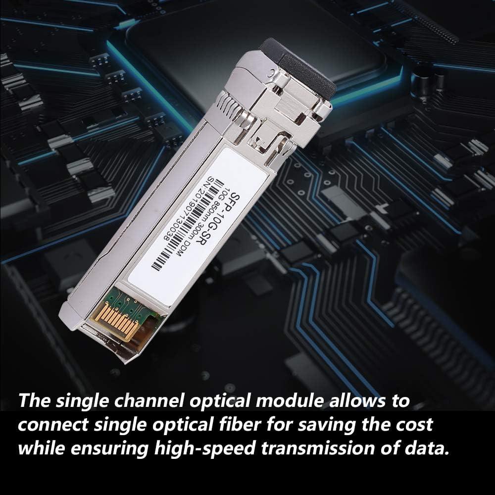 SFP-10G-SR 10Gb//s 850nm 300m DDM 10 Gigabit Single-Mode Fiber Transceiver Optical Module Walmeck