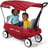Amazon Com Radio Flyer Deluxe Family Wagon Toys Amp Games